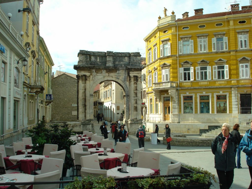 Pula Arch of the Sergii