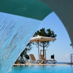 Ved Poolen paa Hotel Istria